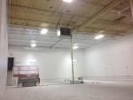 Metal Deck Ceiling in progress